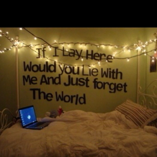 Cute Quote For Bedroom Walls 1 Picture Quote #1