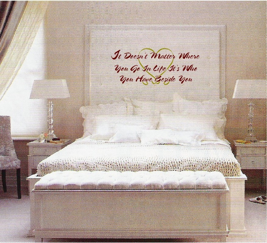 Cute Quote For Bedroom Walls 2 Picture Quote #1
