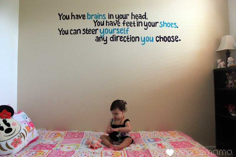 Cute Quote For Bedroom Walls 4 Picture Quote #1