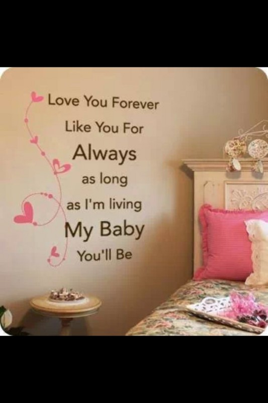 Cute Quote For Bedroom Walls 5 Picture Quote #1