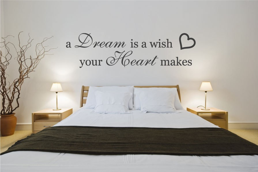 Master Bedroom Wall Quote 1 Picture Quote #1
