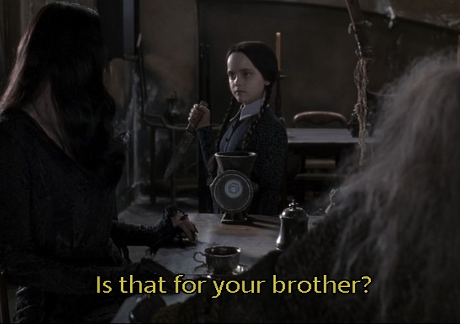 Addams Family Wednesday Quote 3 Picture Quote #1