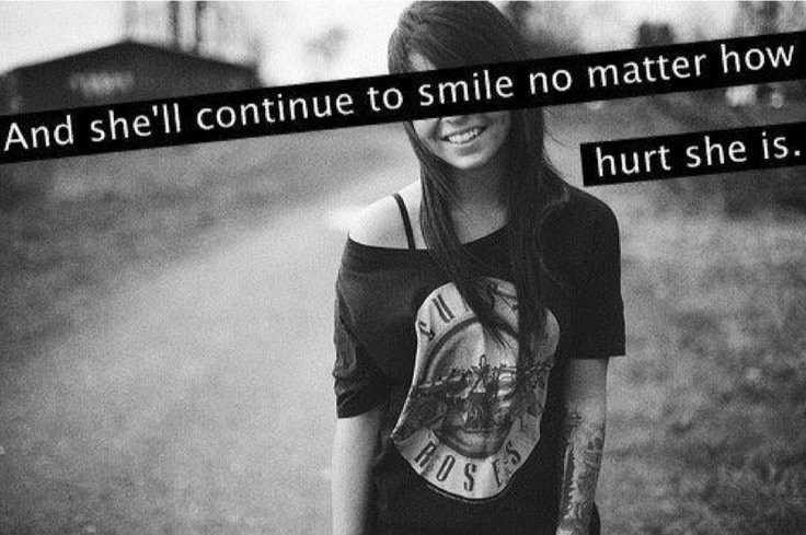 Smile No Matter What Quote 1 Picture Quote #1