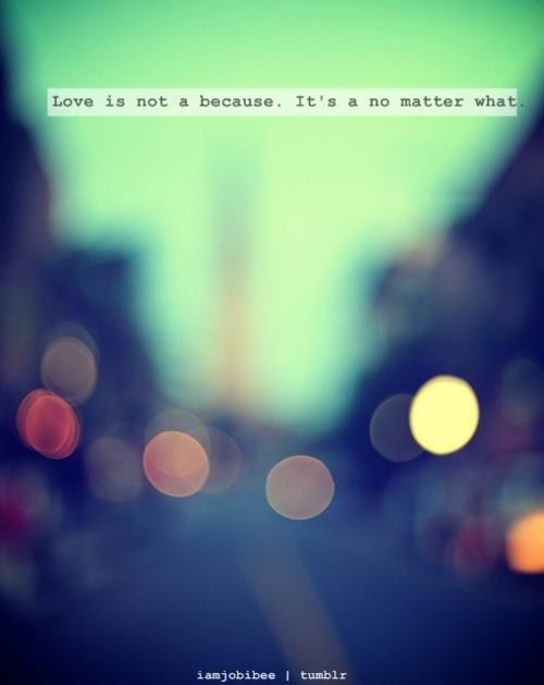 Love No Matter What Quote 1 Picture Quote #1
