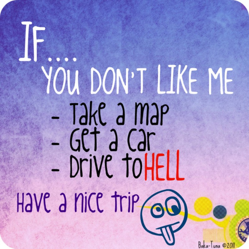 Dont Like Me Quote 6 Picture Quote #1
