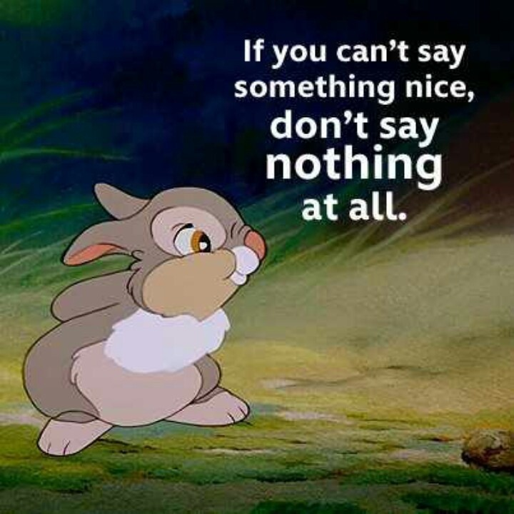 Thumper The Rabbit Quote 4 Picture Quote #1