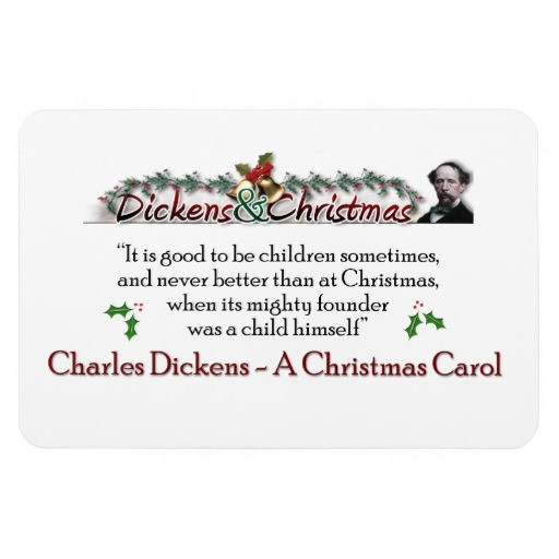 Delightful Charles Dickens Christmas Quote 8 Picture Quote #1