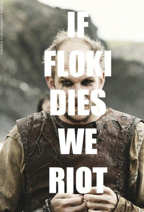 Floki Vikings Quote 1 Picture Quote #1