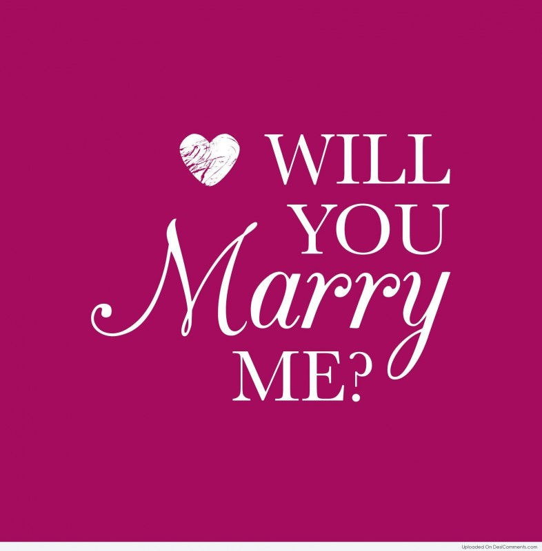Marry Me Picture Quotes