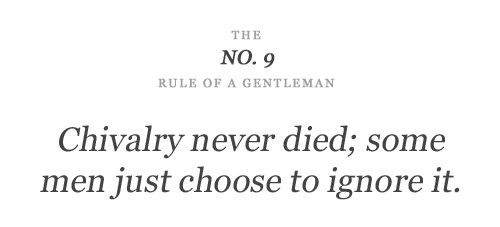 Chivalry Quote 7 Picture Quote #1