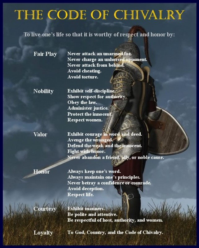 Chivalry Quote 15 Picture Quote #1