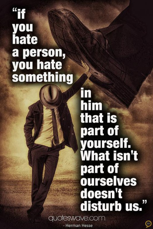 Hate Quote For Him 3 Picture Quote #1