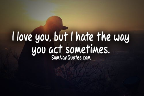 Hate Quote For Him 5 Picture Quote #1