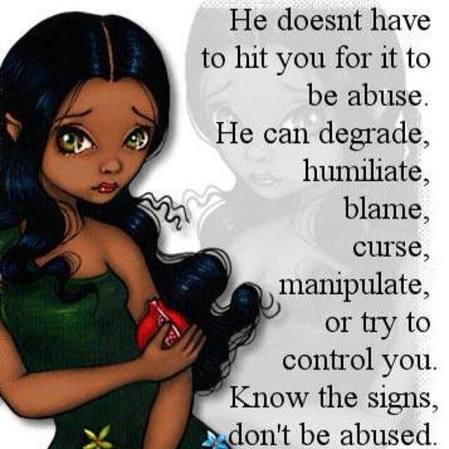 Abusive Relationship Quote 15 Picture Quote #1