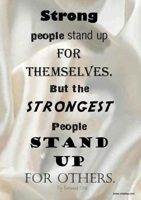 Strong People Quote 1 Picture Quote #1