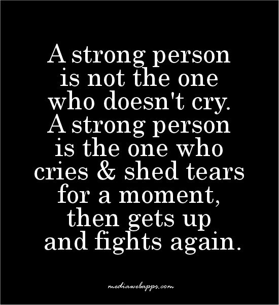 Strong People Quote 2 Picture Quote #1