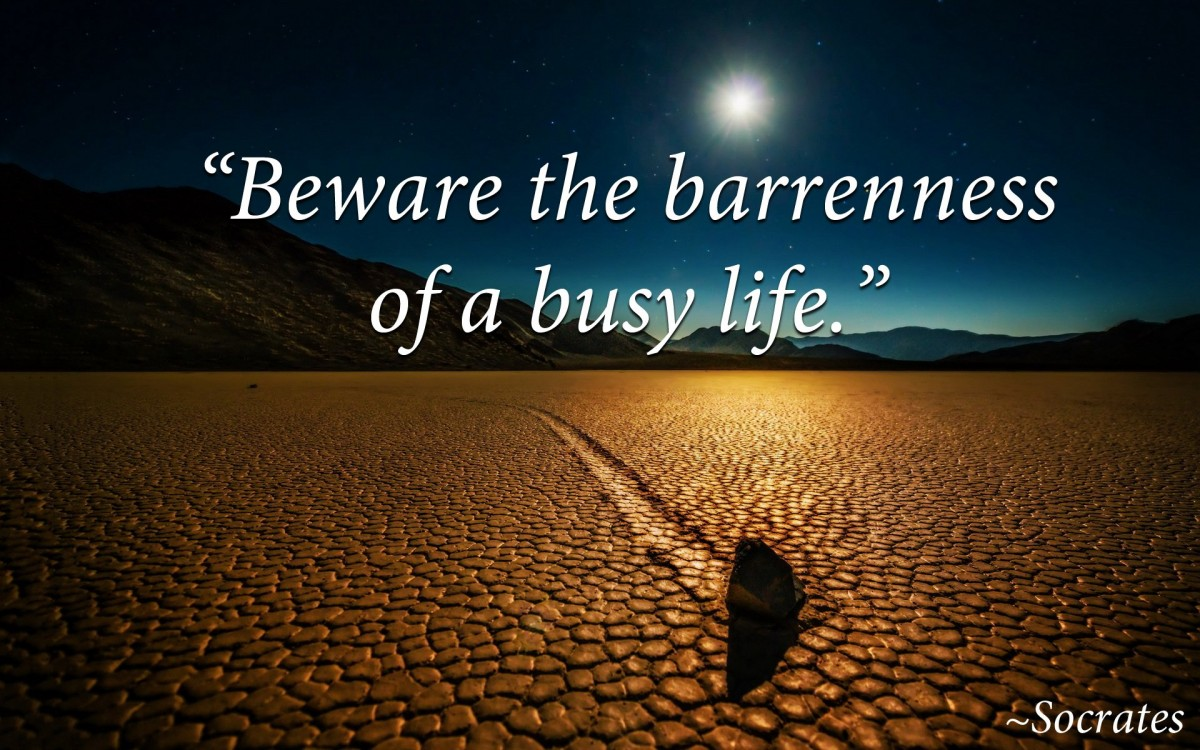 Busy Life Quote 1 Picture Quote #1