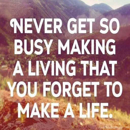 Busy Life Quote 2 Picture Quote #1