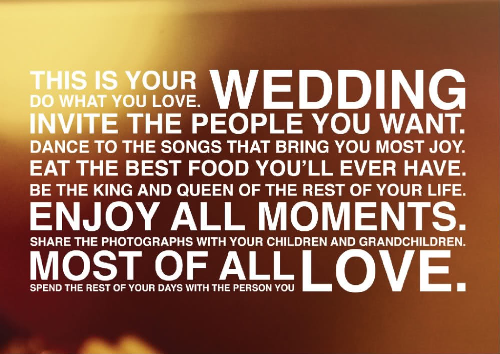 Wedding Advice Quote 10 Picture Quote #1