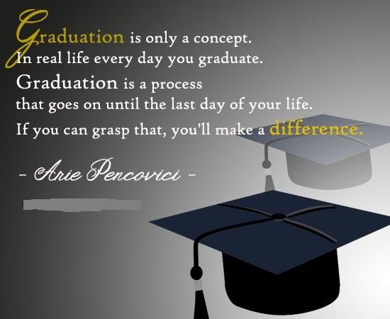Graduate Quote 1 Picture Quote #1