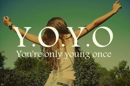 Being Young Quote 1 Picture Quote #1