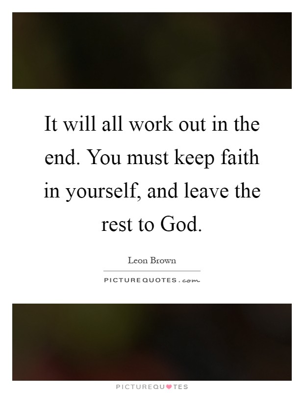 Faith In You Quotes