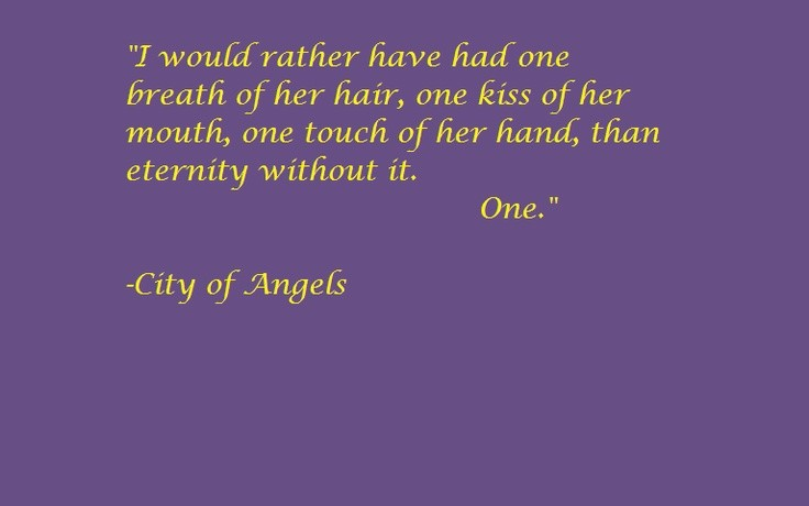 City Of Angels Quote 5 Picture Quote #1