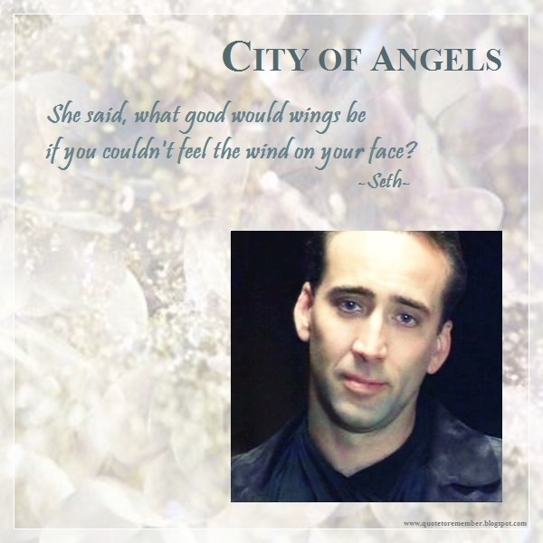 City Of Angels Quote 8 Picture Quote #1