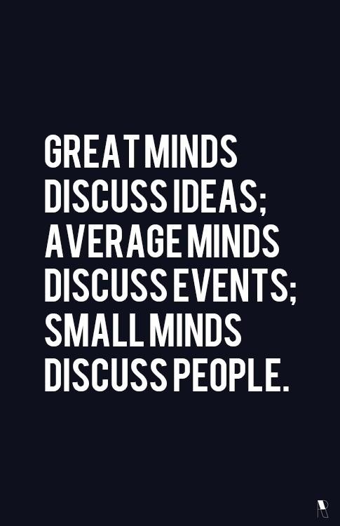 bright minds beautiful ideas