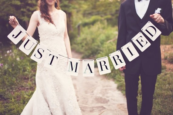 Just Married Quote 1 Picture Quote #1