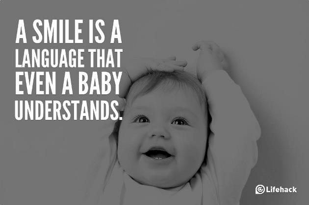Baby Smile Quote 2 Picture Quote #1