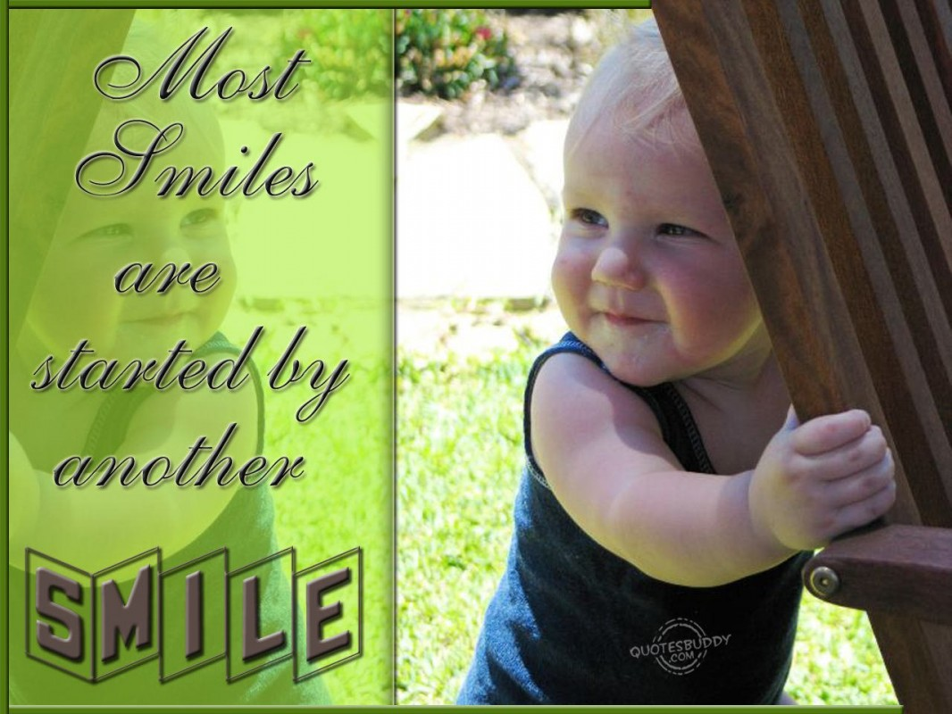 Baby Smile Quote 3 Picture Quote #1