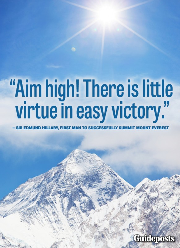 Aim High Quote 1 Picture Quote #1