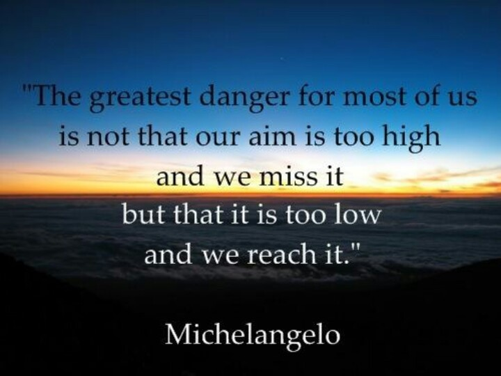 Aim Higher Quote 4 Picture Quote #1