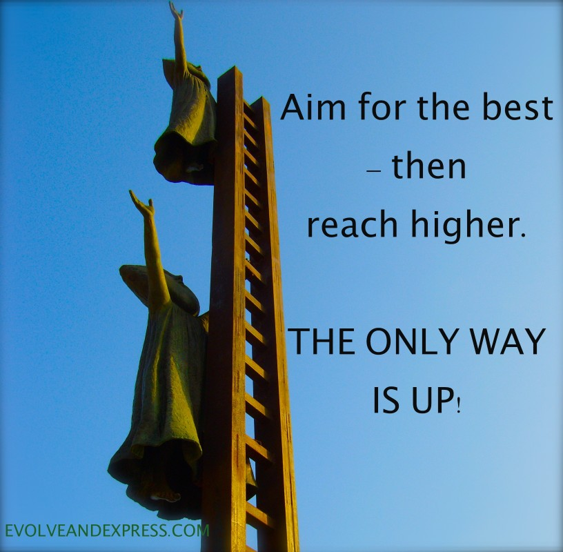Aim High Quote 10 Picture Quote #1