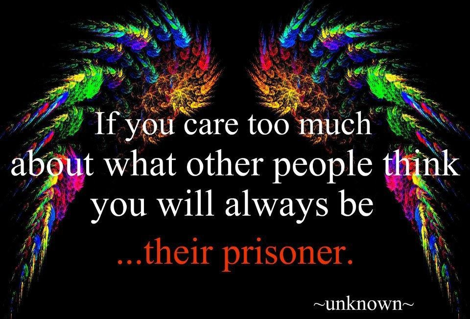 Caring Too Much Quote 3 Picture Quote #1