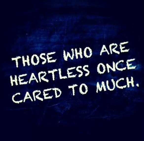 Caring Too Much Quote 5 Picture Quote #1