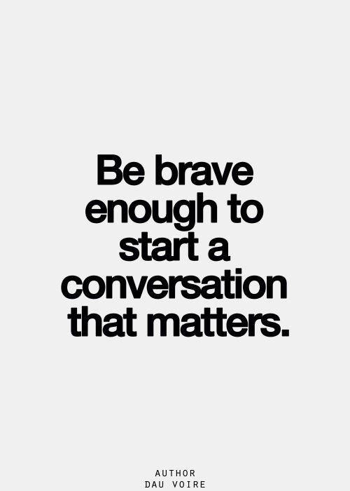 Conversation Quote 1 Picture Quote #1