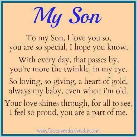 Proud Mom To Son Quote | Quote Number 691903 | Picture Quotes