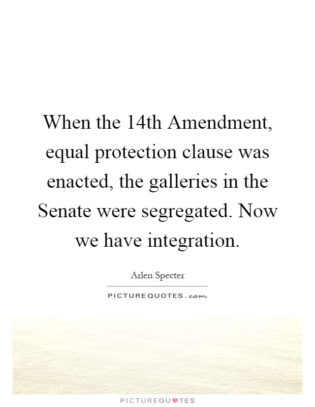united states 14th amendment - equal protection clause It is the word person that connects the dots of due process and equal protection in the 14th amendment to the us constitution and it is those five words that make the constitution of the.