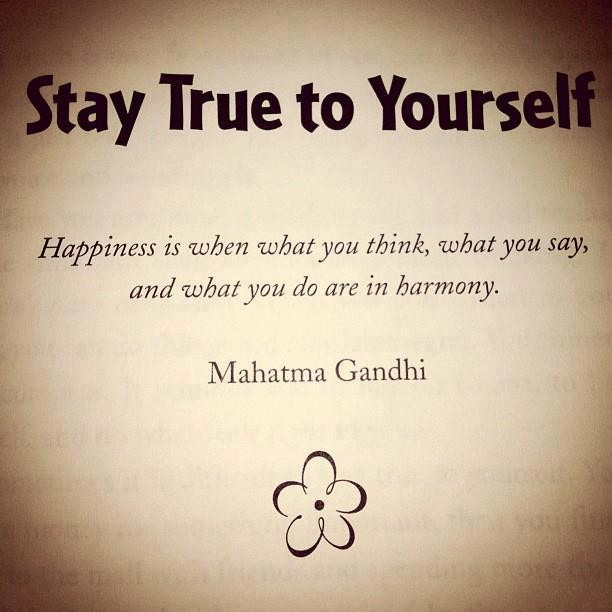 Stay True To Yourself Quote 2 Picture Quote #1