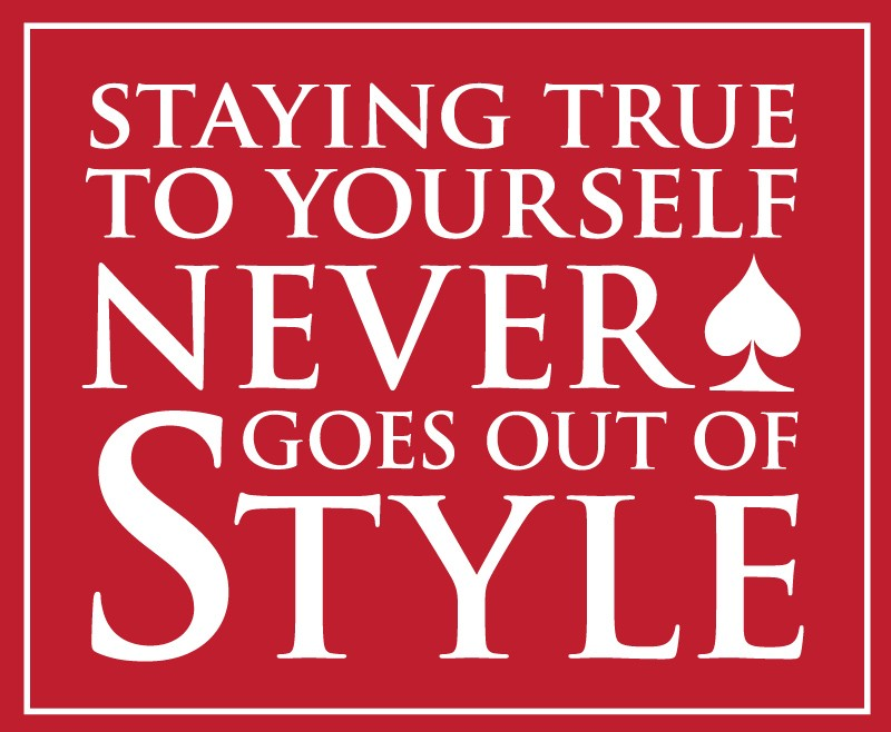 Stay True To Yourself Quote 9 Picture Quote #1