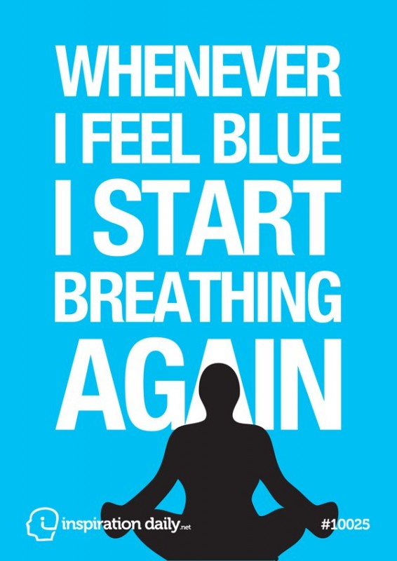 Feeling Blue Quote 2 Picture Quote #1