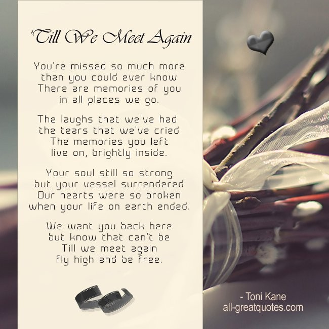 Until We Meet Again Quote 4 Picture Quote #1