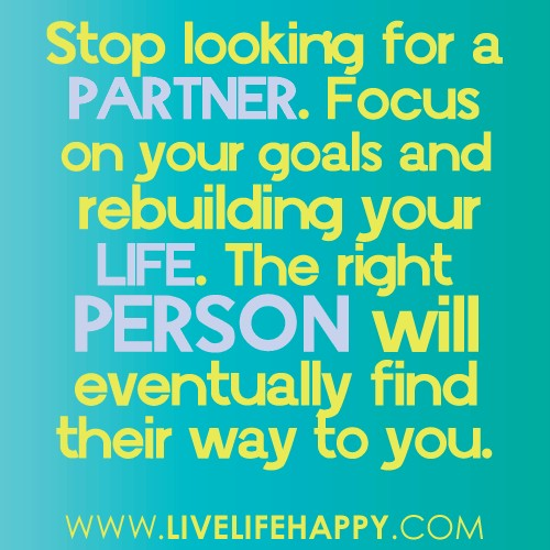 Life Partner Quote 1 Picture Quote #1