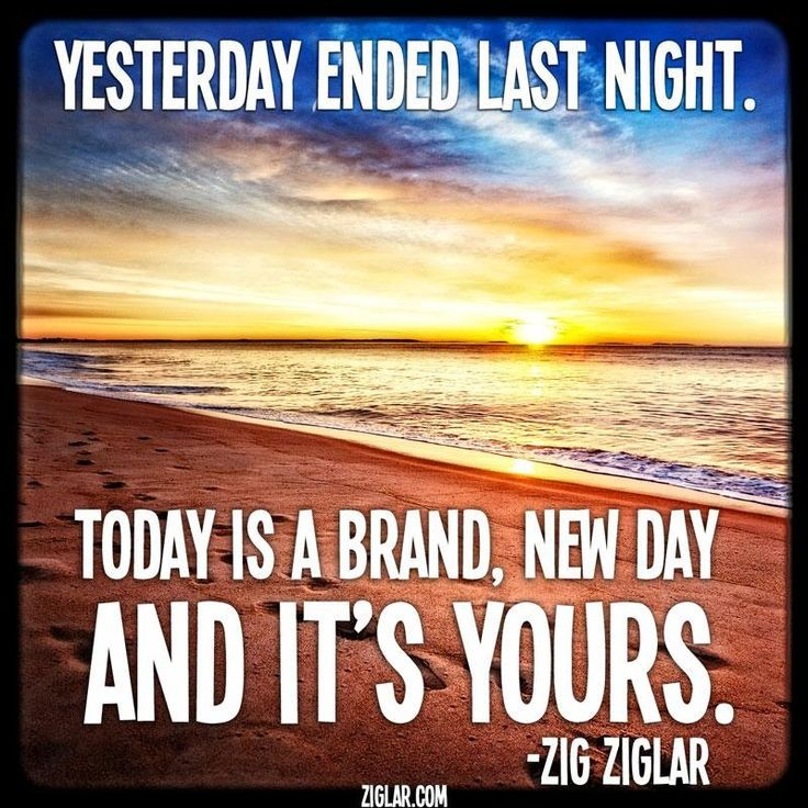 Today Is A New Day Quote 1 Picture Quote #1