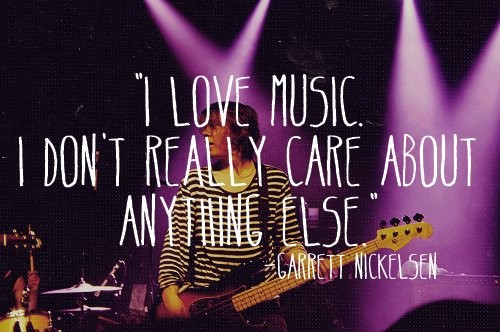 I Love Music Quote 5 Picture Quote #1