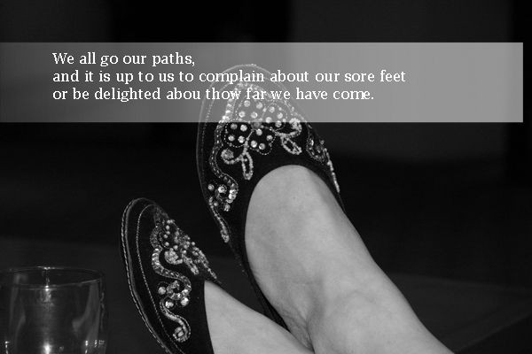 Sore Feet Quote 1 Picture Quote #1