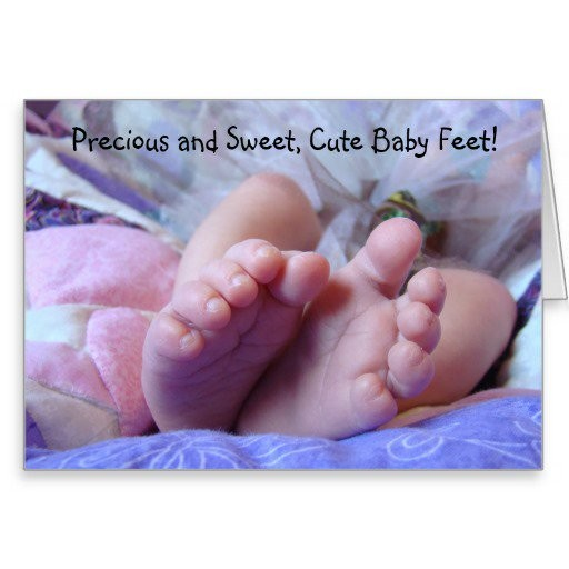 Cute Baby Feet Quote 2 Picture Quote #1