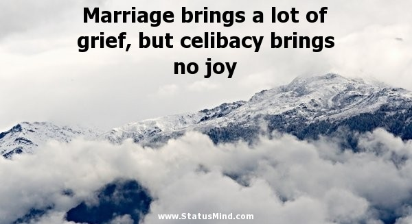 Celibacy Quote 3 Picture Quote #1